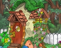 BACKGROUND DESIGN- NICKELODEON GAMES/ NEOPETS.COM