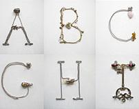 Hand-made Alphabets