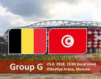 Soi kèo Bỉ vs Tunisia
