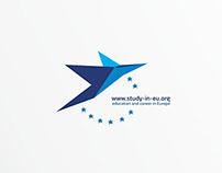 Study in EU logos