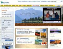 National Parks on Expedia Microsite, Expedia.com