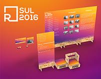 R Design Sul 2016 | Sinalização e mobiliário