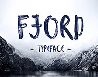 Fjord Brush Typeface