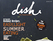 Dish Magazine Cover