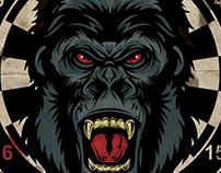 """New Year's Card """"Gorilla"""""""