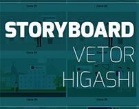 Storyboard Animável em Vetor - Clínica Higashi