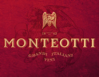 MONTEOTTI wine logotype