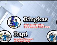 #12 Banner 5S 5R Seiri Seiton Indonesia Free Download C