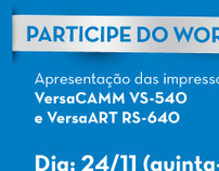 Convite do Workshop | Revenda Autorizada