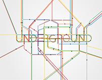 Underground Typography Poster