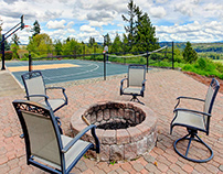 Add a Small Fire Pit in Your Outdoor Space