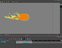fireball animation