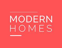 Houses Rental Website Design