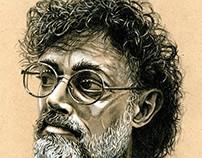 Terence McKenna portrait