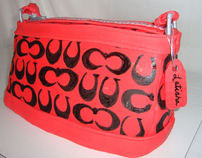 Red Coach Bag Cake 2011