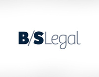 B/S Legal - visual identity and website of a law firm