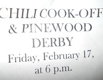 2012 Chili CookOff and Pinewood Derby Race