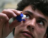 Droplet: Eye drop aid