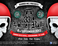 Banner Mcc Motorbike Rally poster