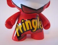 Viva Las Vegas (munny) and Pringles