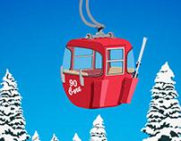 Gore Mountain Vintage Ski Poster