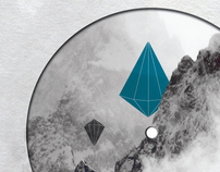 Blu Saphir Label Design