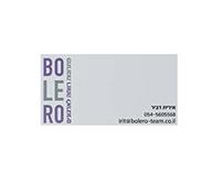 עיצוב ומיתוג לחברת BOLERO