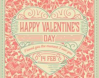 Free Template: Valentine's card