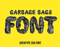 Garbage Bags Font