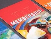 The Detroit Institute of Arts Membership Brochure Set