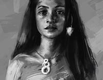 Portrait & texture study