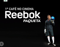 Reebok - 1º Café no Cinema