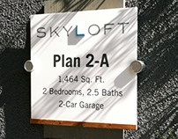 SIGN DESIGN - APARTMENTS / CONDOS / LOFTS