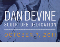 Dan Devine Sculpture Dedication Credential