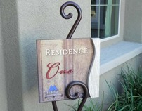 SIGN DESIGN - VARIOUS SINGLE FAMILY RESIDENTIAL