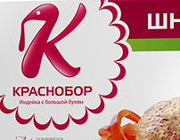 "Design of the concept identity of TM ""Krasnobor"""