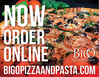 Big O Pizza and Pasta Video Add