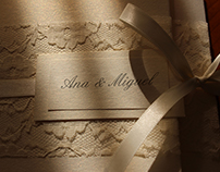 Convite de Casamento Rendado // Lacy Wedding Invitation