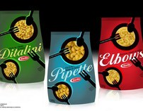 Barilla - pasta packaging