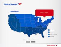 Bank of America – NADA Touchscreen