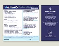 Active Life Service Policies Handout