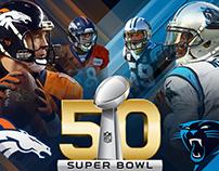 Super Bowl 50 Social Media Suite