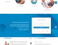 Rediseño sitio web: CTOM