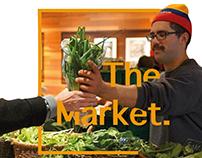 Systemic design - Local Market, Dorsal Po