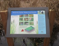 North Creek Park Interpretive Signage