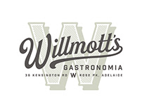 Willmott's Gastronomia Branding for Crafty Design