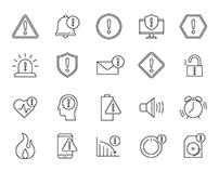 20 Alert Vector Icons