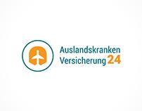 Auslandskrankenversicherung24 - logo