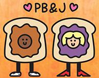 PB & J FOREVOR