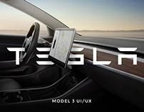 Tesla Model 3 | User Interface